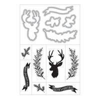 Art C Stamp & Cut: Christmas Deer