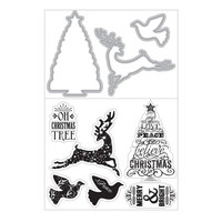 Art C Stamp & Cut: Oh Christmas Tree