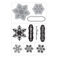 Art C Stamp & Cut: Snowflakes