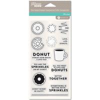 Jillibean Soup: Coffee & Donuts -kirkas leimasinsetti
