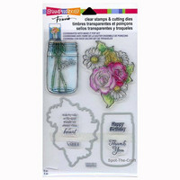 Clear Stamps & Cutting Dies: Mason Jar