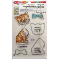 Clear Stamps & Cutting Dies: Cat