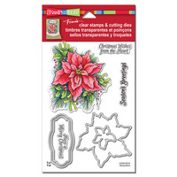 Clear Stamps & Cutting Dies: Poinsettia