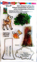 Clear Stamps & Cutting Dies: Deer, Fox & Owl