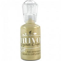 Nuvo Crystal Drops: Pale Gold