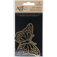 Art C Brass Template: Butterfly