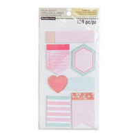 Recollections Planner Sticky Notes: Warm Medium -pakkaus