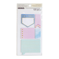 Recollections Planner Sticky Notes: Large Cool -pakkaus