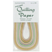 Quilling Paper: Parchment Assortment 1/8.