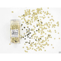 Gold Hearts 3mm Confettiglitter