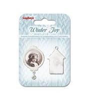 Winter Joy 1  -metallikoristeet