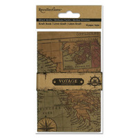Voyage Collection Mixed Media Kraft Book