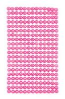 Adhensive Pearls : Pink 6mm