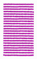 Adhensive Pearls : Dark Pink 4mm