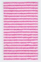Adhensive Pearls : Pink 4mm