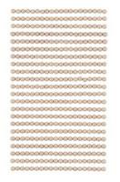 Adhensive Pearls : Beige 4mm