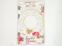 Painted Blooms Paper Doilies
