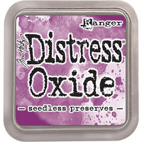 Distress Ink Oxide: Seedless Preserves -mustetyyny