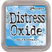 Distress Ink Oxide: Salty Ocean -mustetyyny