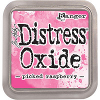 Distress Ink Oxide: Picked Raspberry -mustetyyny