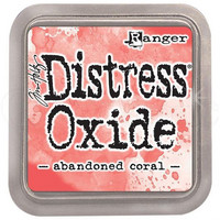 Distress Ink Oxide: Abandoned Coral -mustetyyny