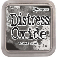 Distress Ink Oxide: Black Soot -mustetyyny