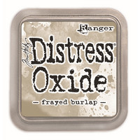 Distress Ink Oxide: Frayed Burlap -mustetyyny
