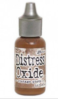 Distress Ink Oxide Refill: Vintage Photo -täyttöpullo