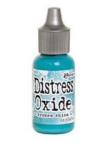Distress Ink Oxide Refill: Broken China -täyttöpullo