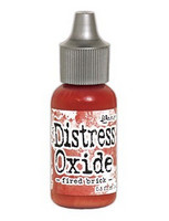 Distress Ink Oxide Refill: Fired Brick -täyttöpullo