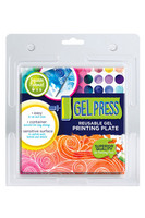 Gel Press 6x6 Reusable Gel Printing Plate