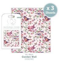 CC Decoupage Paper: Garden Wall