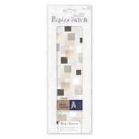 Papier Patch Deco Sheets: Geometric Mono Squares