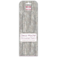 Deco Mache Decoupage Papers:Distressed Wood