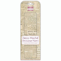 Deco Mache Decoupage Papers:Newspaper