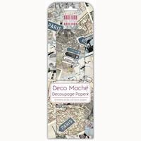 Deco Mache Decoupage Papers: Paris