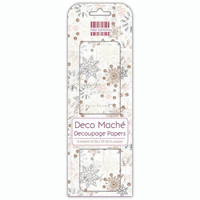 Deco Mache Decoupage Papers: Multi Snowflake