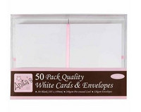 Anitas White Cards & Envelopes A6
