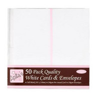 Anitas Tall White Cards & Envelopes