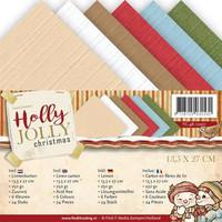 Holly Jolly Christmas 13,5 x 27 cm -kartonkipakkaus