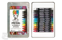 Dina Wakley Media Scribble Sticks - värit