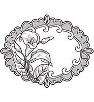 Elegant Lilies -leimasin