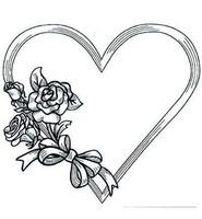 Heart & Roses -leimasin