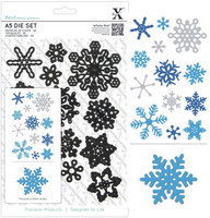 Snowflakes A5 -stanssisetti