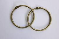 Saranarenkaat Antique Brass 30 mm