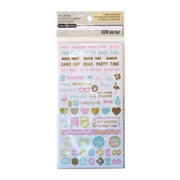 Recollections Planner Stickers:  Uptown Chic Activity - tarrapakkaus