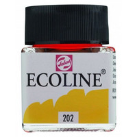 Ecoline Liquid Watercolor: Deep Yellow 202