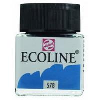 Ecoline Liquid Watercolor: Cyan 578