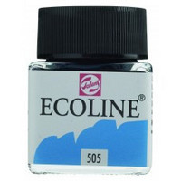 Ecoline Liquid Watercolor: Ultramarine Light 505