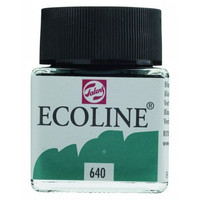 Ecoline Liquid Watercolor: Blue Green 640